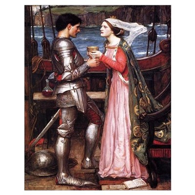Tristan & Isolde Print Poster