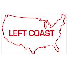LEFT COAST Poster