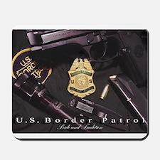 Border Patrol Print Mousepad