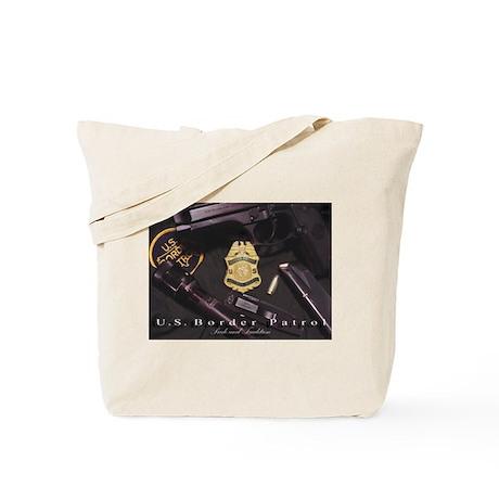 Border Patrol Print Tote Bag