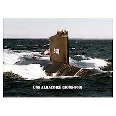 USS ALBACORE Poster