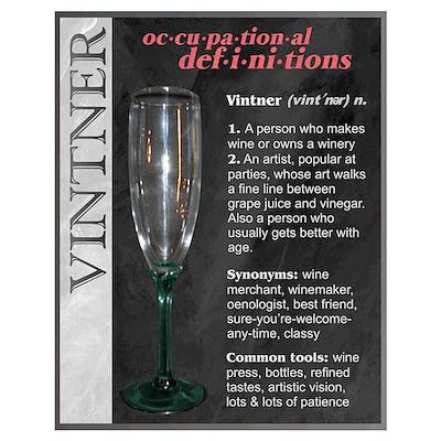 Vintner Poster