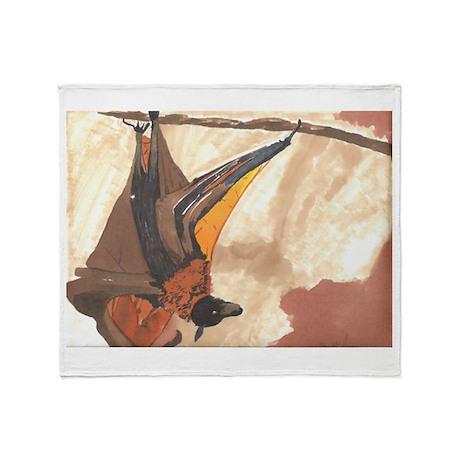 Bat- God's Creatures Throw Blanket