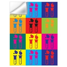 Chemical Engineering Pop Art Wall Decal