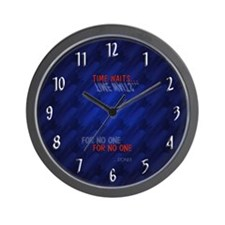 """Fade into you"" Cool Clocks Wall Clock"
