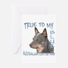 True To My Blue Greeting Cards (pk Of 10)