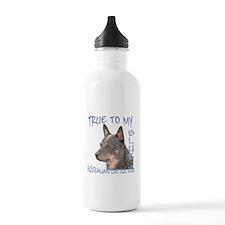 True To My Blue Water Bottle