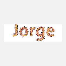 Jorge Fiesta 42x14 Wall Peel