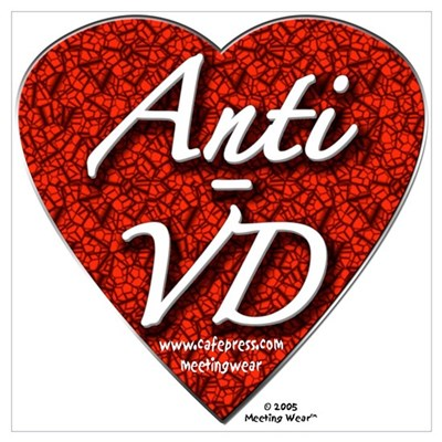 """Anti-VD"" Framed Print"