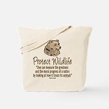 Protect Bears Tote Bag