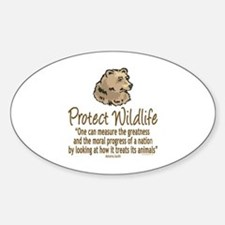 Protect Bears Sticker (Oval)