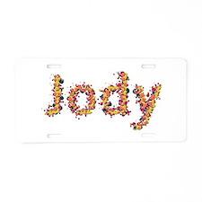 Jody Fiesta Aluminum License Plate