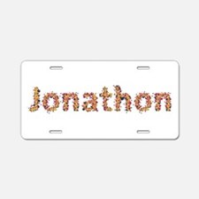 Jonathon Fiesta Aluminum License Plate