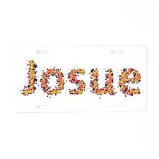 Josue Fiesta Aluminum License Plate