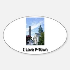 I Love P-Town Decal