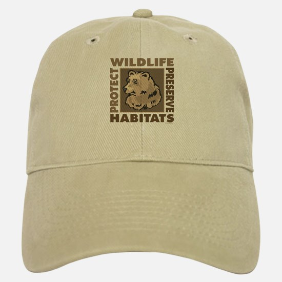 Protect Bears Wildlife Baseball Baseball Cap