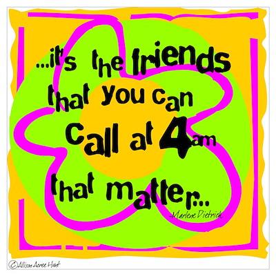 Friends That Matter Poster