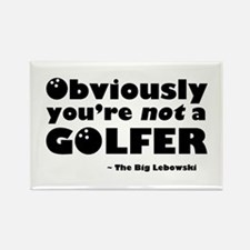 'Big Lebowski Quote' Rectangle Magnet