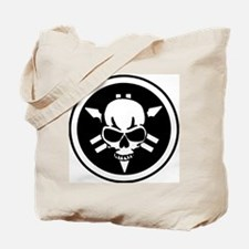 Yamaha skull Tote Bag