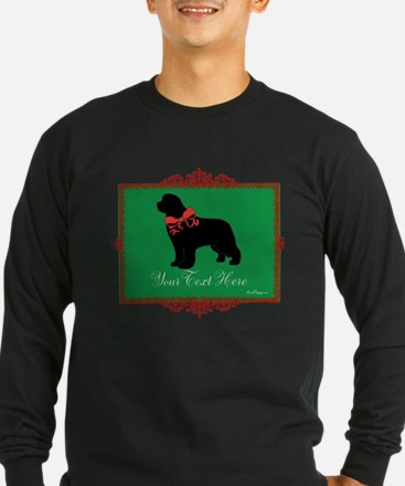 Holiday Newf - Your Text T