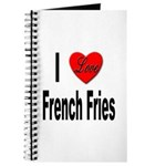 I Love French Fries Journal