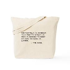 'Big Lebowski Quote' Tote Bag