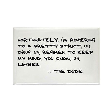 'Big Lebowski Quote' Rectangle Magnet (10 pack)