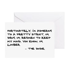 'Big Lebowski Quote' Greeting Card