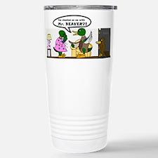 A Cheating Duck Travel Mug
