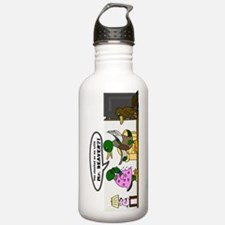 A Cheating Duck Water Bottle