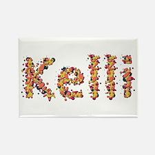 Kelli Fiesta Rectangle Magnet