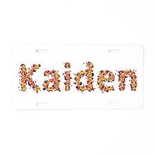 Kaiden Fiesta Aluminum License Plate