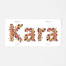 Kara Fiesta Aluminum License Plate