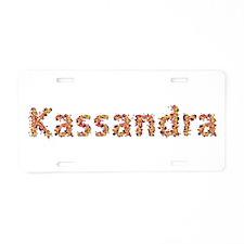 Kassandra Fiesta Aluminum License Plate