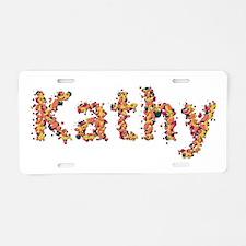 Kathy Fiesta Aluminum License Plate