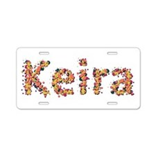 Keira Fiesta Aluminum License Plate