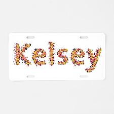 Kelsey Fiesta Aluminum License Plate