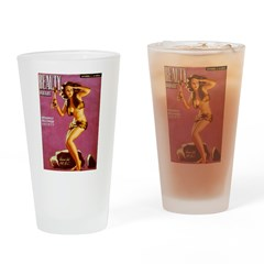 Beauty Parade Cave Girl Cover Drinking Glass