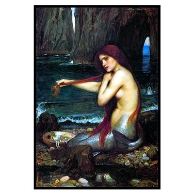 Best Seller Merrow Mermaid Poster