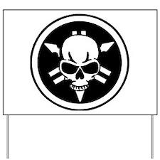 Yamaha skull Yard Sign
