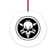 skull-n-forks Ornament (Round)