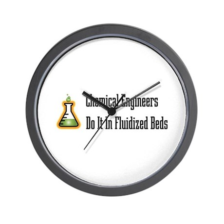 Chemical Engineers Wall Clock