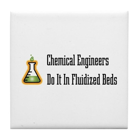 Chemical Engineers Tile Coaster