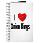 I Love Onion Rings Journal
