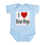 I Love Onion Rings Infant Creeper