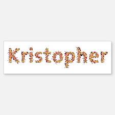 Kristopher Fiesta Bumper Bumper Bumper Sticker