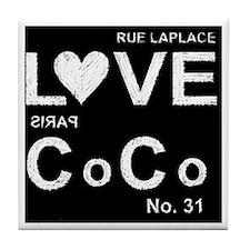 LOVE COCO Tile Coaster