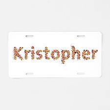 Kristopher Fiesta Aluminum License Plate