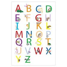 Unique Letters Wall Art