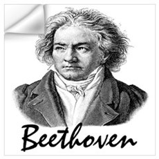 Beethoven Wall Decal